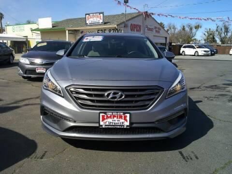 2015 Hyundai Sonata for sale at Empire Auto Sales in Modesto CA