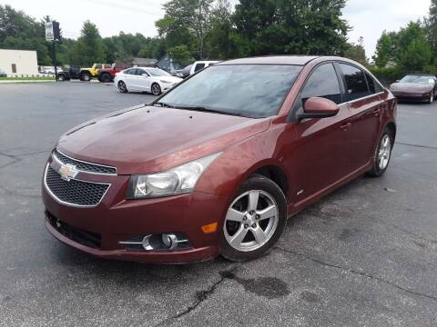 2012 Chevrolet Cruze for sale at Cruisin' Auto Sales in Madison IN