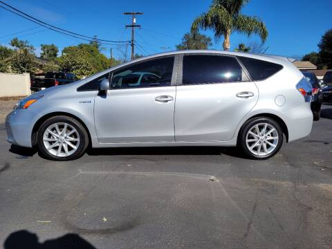 2012 Toyota Prius v for sale at Geiman Motors in Escondido CA