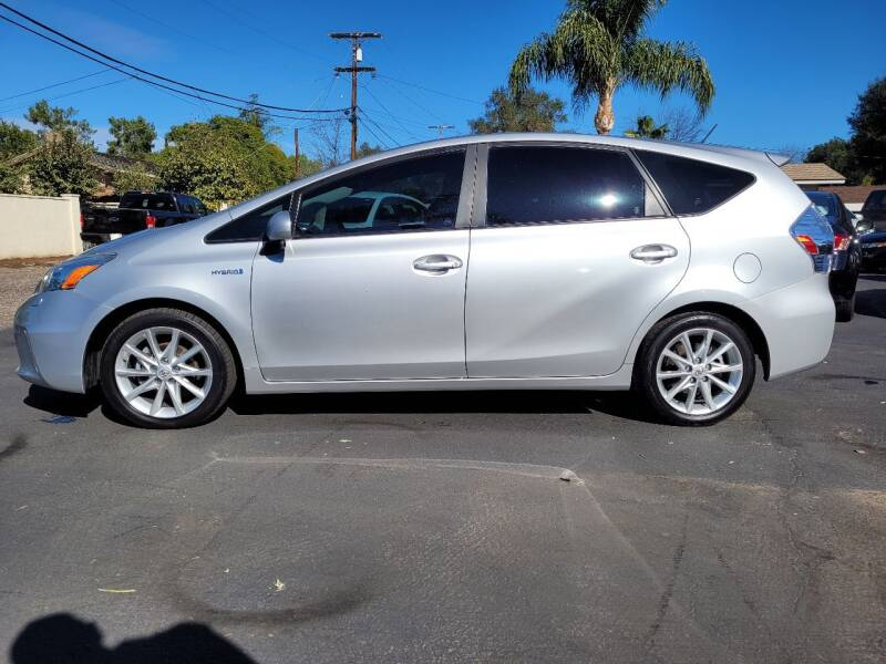 2012 Toyota Prius v for sale at Geiman Motors in Escondido CA