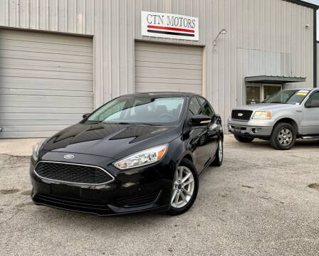 2015 Ford Focus for sale at CTN MOTORS in Houston TX