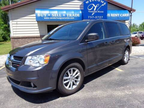 2018 Dodge Grand Caravan for sale at VanderHaag Car Sales LLC in Scottville MI