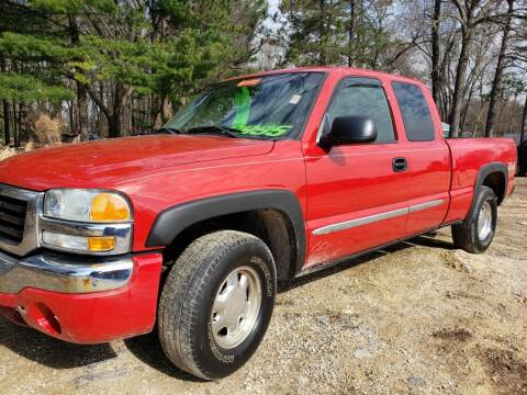 2003 GMC Sierra 1500 for sale at Northwoods Auto & Truck Sales in Machesney Park IL