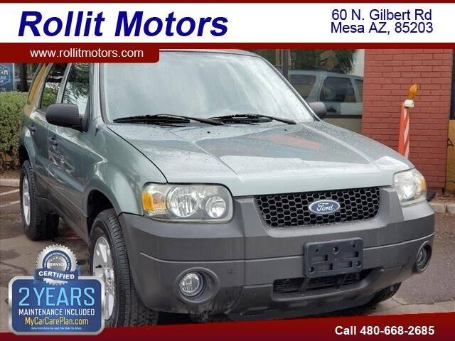 2005 Ford Escape for sale at Rollit Motors in Mesa AZ