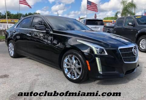 2014 Cadillac CTS for sale at AUTO CLUB OF MIAMI, INC in Miami FL