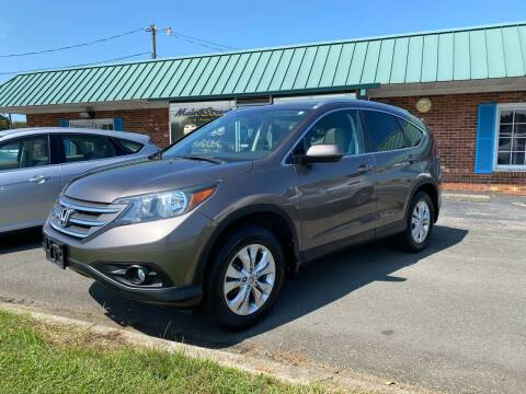 2012 Honda CR-V for sale at Main Street Auto LLC in King NC