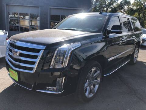 2017 Cadillac Escalade ESV for sale at Champs Auto Sales in Detroit MI