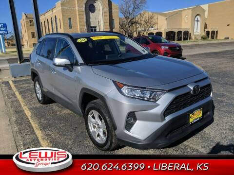 2020 Toyota RAV4 for sale at Lewis Chevrolet Buick Cadillac of Liberal in Liberal KS