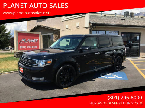 2019 Ford Flex for sale at PLANET AUTO SALES in Lindon UT