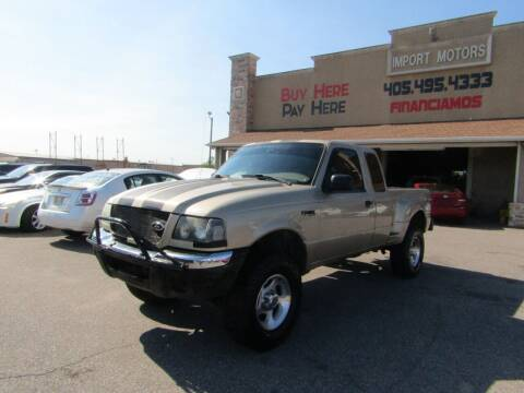 2001 Ford Ranger for sale at Import Motors in Bethany OK