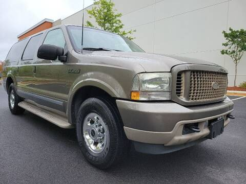 2003 Ford Excursion for sale at ELAN AUTOMOTIVE GROUP in Buford GA