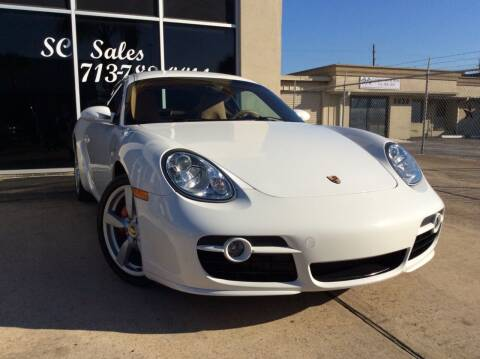 2008 Porsche Cayman for sale at SC SALES INC in Houston TX