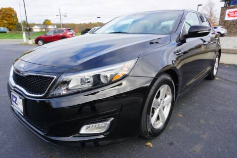 2015 Kia Optima for sale at MyEzAutoBroker.com in Mount Vernon OH
