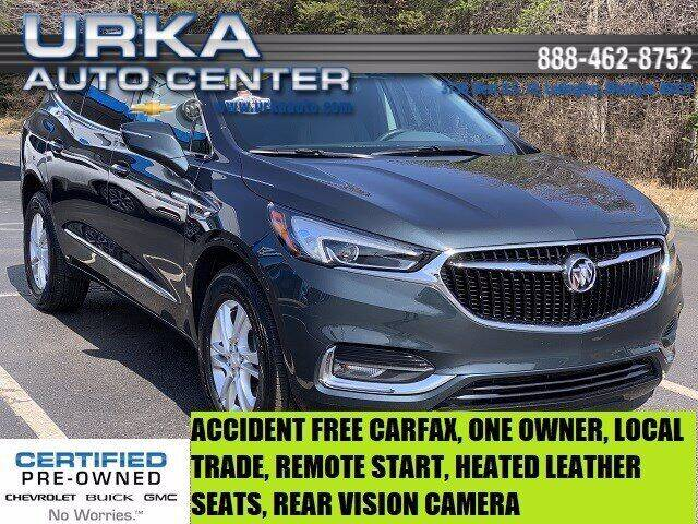 2019 Buick Enclave for sale at Urka Auto Center in Ludington MI