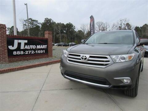 2012 Toyota Highlander for sale at J T Auto Group in Sanford NC