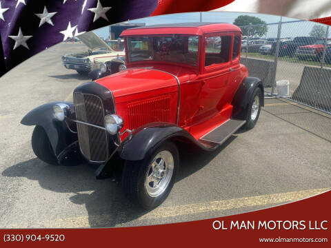 1930 Ford Model A for sale at Ol Man Motors LLC in Louisville OH