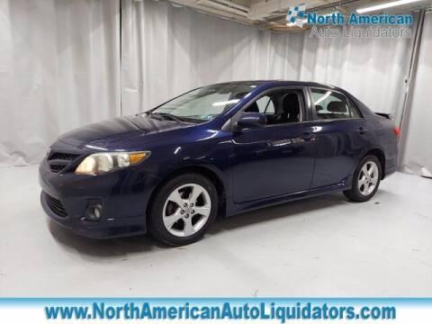 2011 Toyota Corolla for sale at North American Auto Liquidators in Essington PA