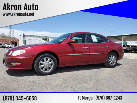 2008 Buick LaCrosse for sale at Akron Auto in Akron CO