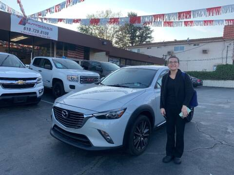 2016 Mazda CX-3 for sale at Automaxx Of San Diego in Spring Valley CA