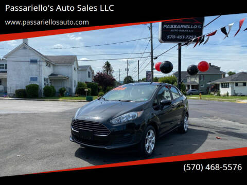 2015 Ford Fiesta for sale at Passariello's Auto Sales LLC in Old Forge PA
