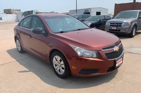 2012 Chevrolet Cruze for sale at Spady Used Cars in Holdrege NE