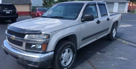 2006 Chevrolet Colorado for sale at SITKO MOTOR SALES INC in Cedar Lake IN