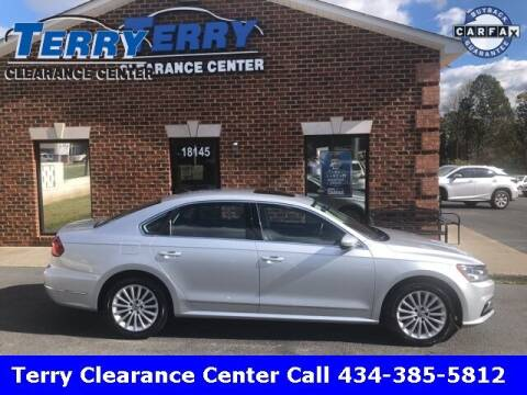 2016 Volkswagen Passat for sale at Terry Clearance Center in Lynchburg VA