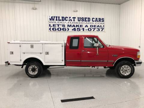 1997 Ford F-250 for sale at Wildcat Used Cars in Somerset KY