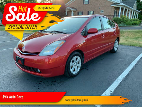 2008 Toyota Prius for sale at Pak Auto Corp in Schenectady NY