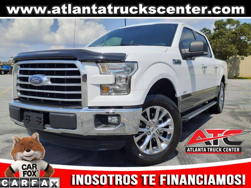 2016 Ford F-150 for sale at ATLANTA TRUCK CENTER LLC in Brookhaven GA