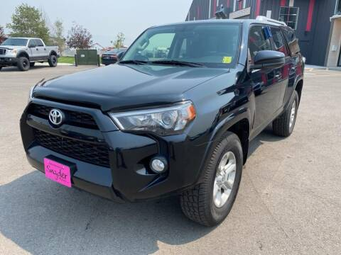 2017 Toyota 4Runner for sale at Snyder Motors Inc in Bozeman MT