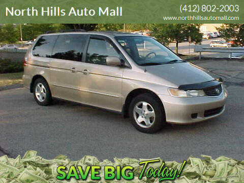 2001 Honda Odyssey for sale at North Hills Auto Mall in Pittsburgh PA