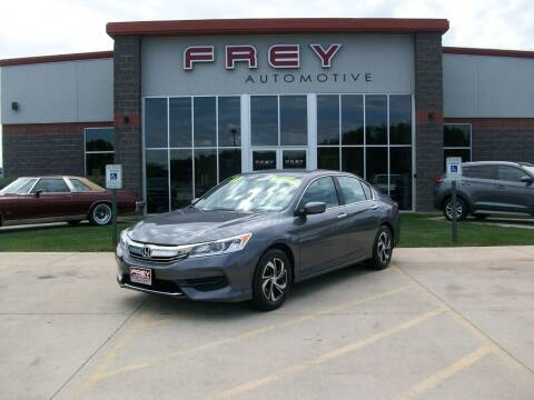 2017 Honda Accord for sale at Frey Automotive in Muskego WI
