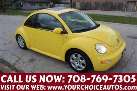 2002 Volkswagen New Beetle for sale at Your Choice Autos in Posen IL