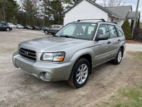 2005 Subaru Forester for sale at Williston Economy Motors in Williston VT