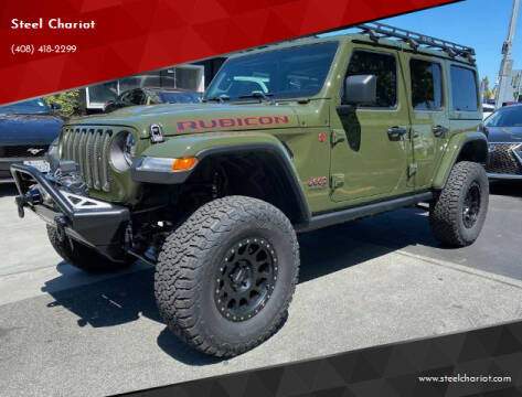 2021 Jeep Wrangler Unlimited for sale at Steel Chariot in San Jose CA