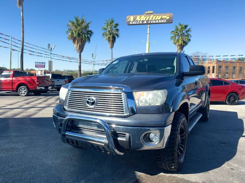 2010 Toyota Tundra for sale at A MOTORS SALES AND FINANCE in San Antonio TX