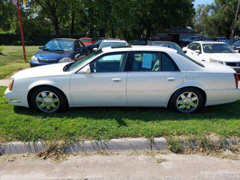 2004 Cadillac DeVille for sale at D & D Auto Sales in Topeka KS