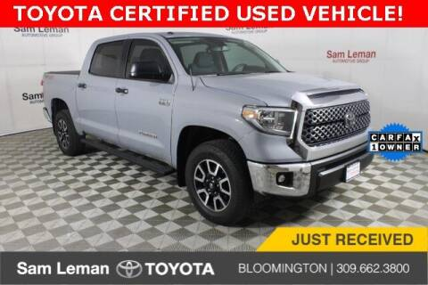 2018 Toyota Tundra for sale at Sam Leman Toyota Bloomington in Bloomington IL