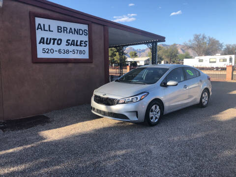 2017 Kia Forte for sale at All Brands Auto Sales in Tucson AZ