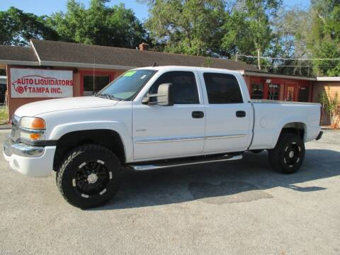 2006 GMC Sierra 2500HD for sale at Auto Liquidators of Tampa in Tampa FL