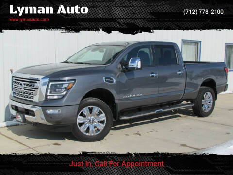2020 Nissan Titan XD for sale at Lyman Auto in Griswold IA