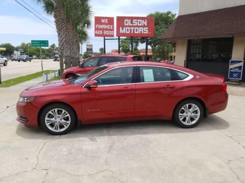 2015 Chevrolet Impala for sale at Olson Motors LLC in Saint Augustine FL