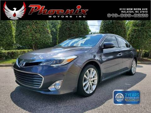 2013 Toyota Avalon for sale at Phoenix Motors Inc in Raleigh NC