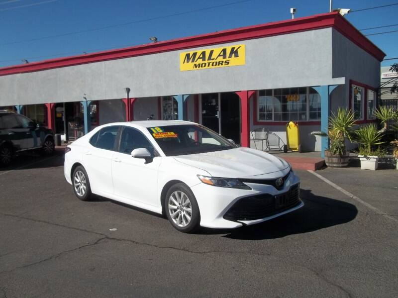 2018 Toyota Camry for sale at Atayas Motors INC #1 in Sacramento CA