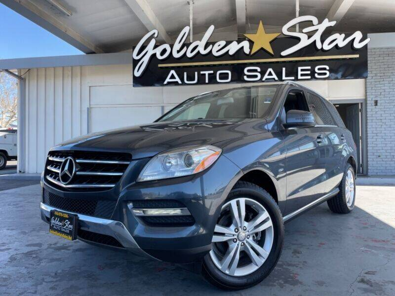 2012 Mercedes-Benz M-Class for sale at Golden Star Auto Sales in Sacramento CA