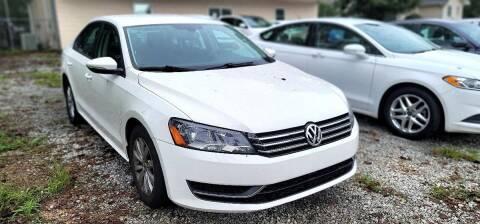 2012 Volkswagen Passat for sale at Dealmakers Auto Sales in Lithia Springs GA