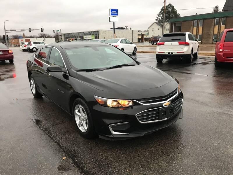 2017 Chevrolet Malibu for sale at Carney Auto Sales in Austin MN