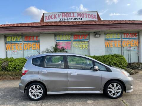 2009 Honda Fit for sale at Rock & Roll Motors in Baton Rouge LA