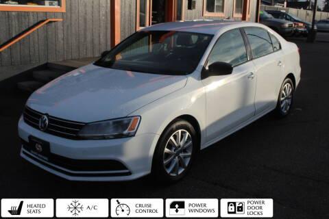 2015 Volkswagen Jetta for sale at Sabeti Motors in Tacoma WA